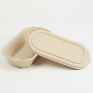 Frozen microwave biodegradable degradable pulp paper bowls tableware