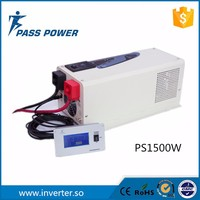 Car used wind solar inverter 1500w low frequency solar hybrid inverter supply