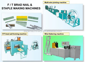 F/T brad nail & staple making machines/production line