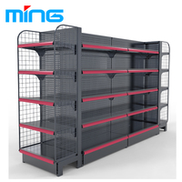 Retail store rack Supermarket shelf Gondola shelving