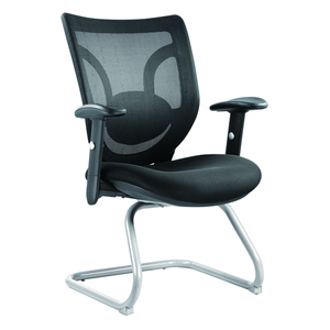 Breathable cheap pu high quality executive mesh visitor chair