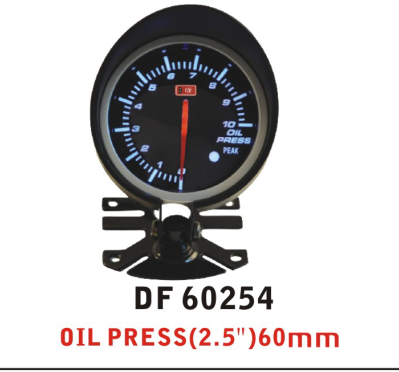 "Defi Advance BF DF60254OIL PRESS METER (2.5"")60MM modifield auto gauge car seden saloon BLUE RED LINGHT"