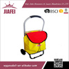 best quality 600D oxford cloth with two eva wheels shopping trolley bag priceg