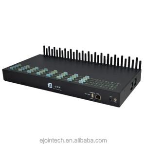 Hot quectel m26/m35/m95 module 32 port 32 sim card voip goip gateway with  free lifetime techsupport