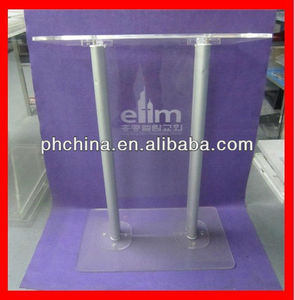 RD-231 Clear Modern Stable Lucite/Acrylic/Glass Lectern/Church Pulpit,Acrylic Lectern/Podium/Rostrum/Dias