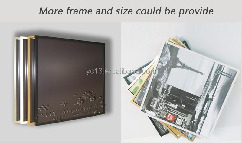 easy update post magnetic wall decoration picture frame & print magnetic painting picture 1013-120