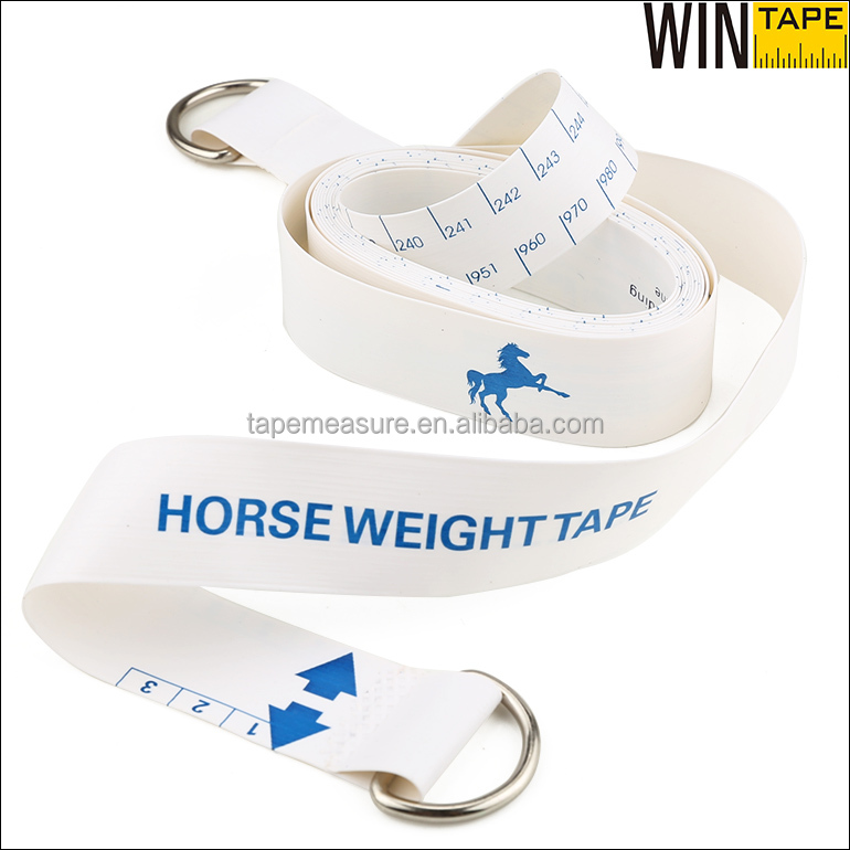 250cm White Horse Pony Animal Custom Measuring Device