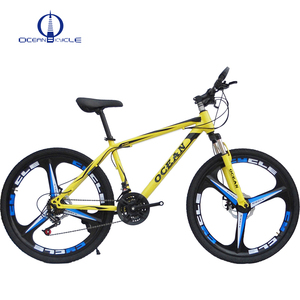 26 inch Alloy wheel steel frame bicycle mountain bike 21 speed shifter MTB bicycle