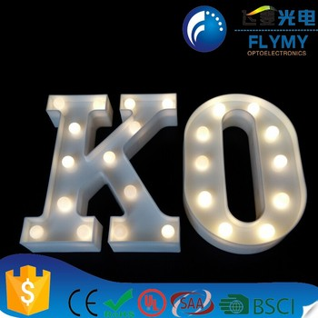 delicore led marquee letter lights alphabet light up sign for