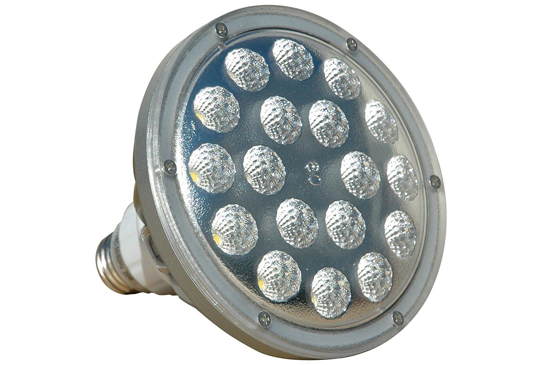 25 Watt LED PAR 38 Spot / Flood Light - 2500 Lumens - 120-240V AC - 12-24VDC(-White3000K-Spot-120-277V AC)