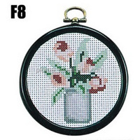 Diy cross stitch kit for gift craft