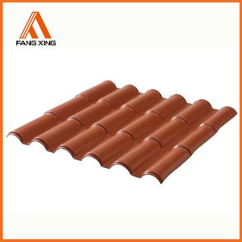Plastic Pvc Synthetic Terracotta Harvey Roof Tiles