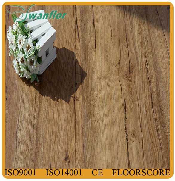 2mm bamboo pattern glue down antislip pvc vinyl flooring