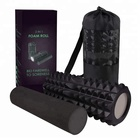 Foam Roller for Deep Tissue Massage High Density 2 in 1 Foam Roller for Physical Therapy & Exercise