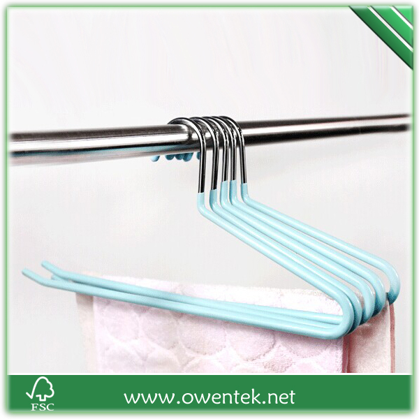Multi Colored Wire Hanger Pvc Coated Beautiful Clothes Hangers