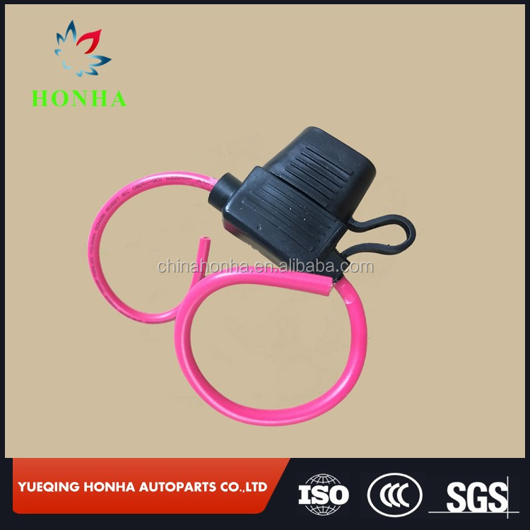 HTB1PpJZNpXXXXaQXXXXq6xXFXXXW mini auto car fuse holder wiring harness with 12awg 34cm red wire Wiring Harness Diagram at panicattacktreatment.co