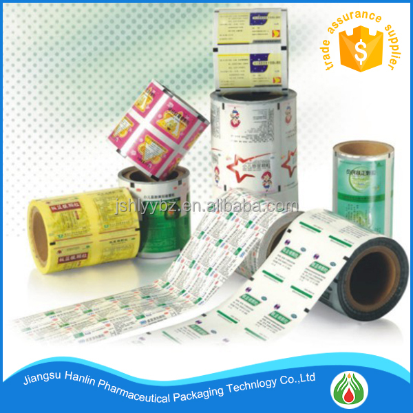 Printed PET/AL/CPP laminated packaging roll film manufacturer