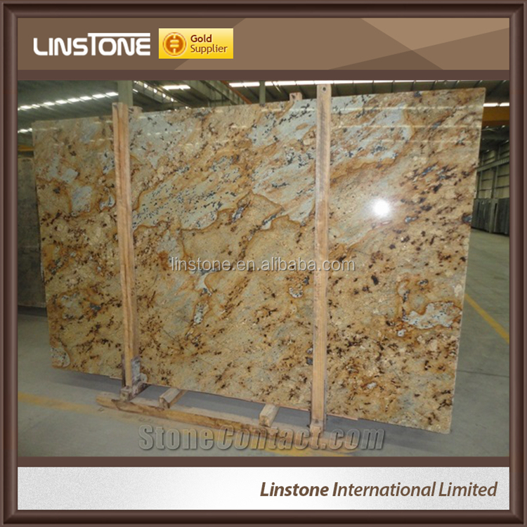 Top Quality Yellow Lapidus Granite Slab Floor Wall Tile