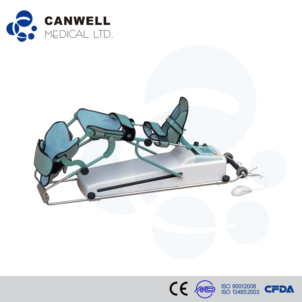 good quality lower limb knee/hip/ankle joint CPM machine, hospital physical therapy equipment