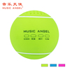 2016 tennis ball shape speaker wireless waterproof bluetooth speaker