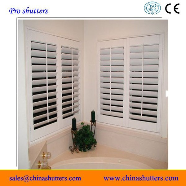 2016 new basswood shutter Hot sell basswood plantation shutter/louver from china