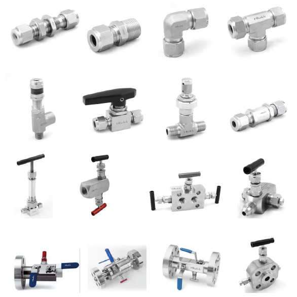 Swagelok compression fitting stainless steel gas