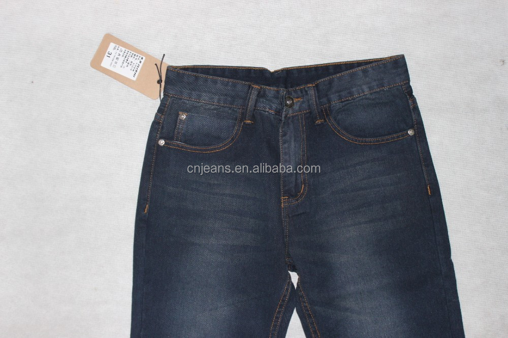 GZY hot sales man jeans denim jeans OEM made own customize wholesale 2015