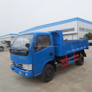 cheapest hot sell factory supply 4*2 DONGFENG 4ton RHD dump truck