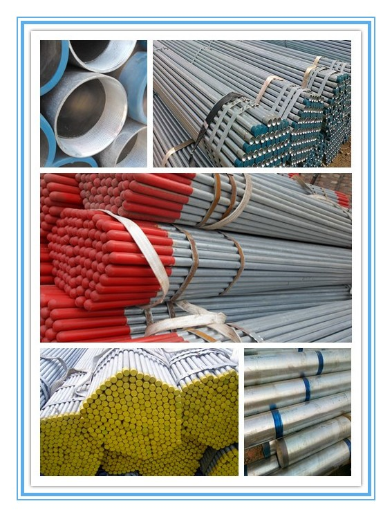factory supply gipp coating round steel tubes for agriculture application