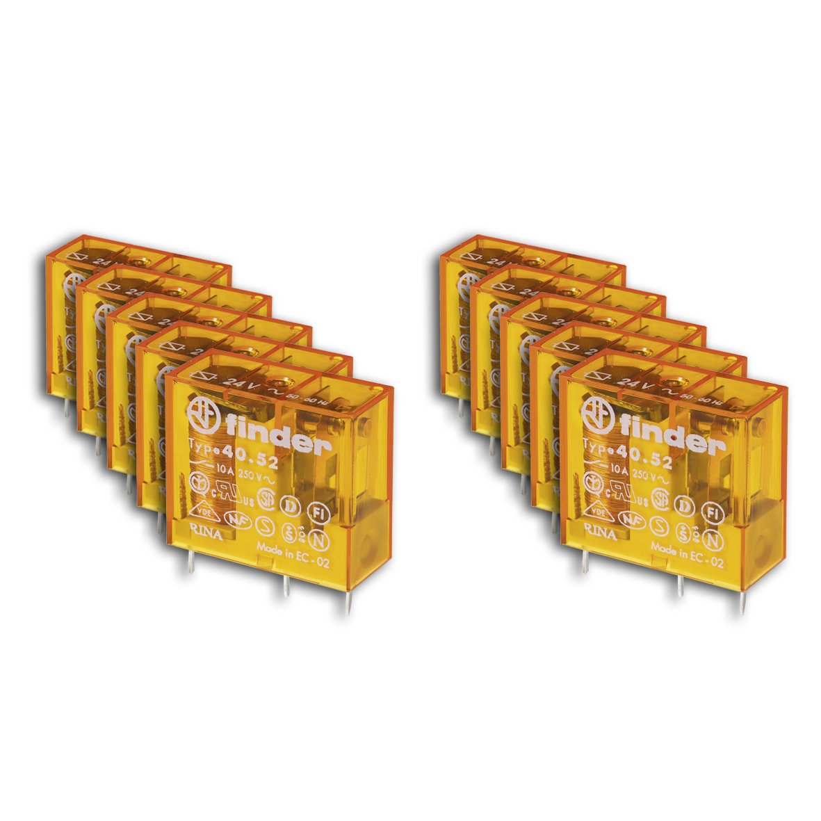 Cheap Finder Relay Find Deals On Line At Alibabacom Terminal Get Quotations 405280240000 Power Dpdt 2co 24vac 15a