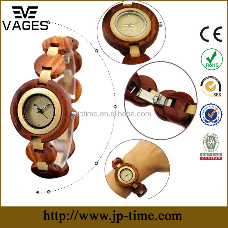ISO Certificate factory womens wooden bracelet watch,wood wrist watch women fast <strong>delivery</strong> with low price