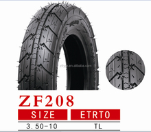 Motorcycle Scooter Tyres 3.50-10 TT and TL High Quality