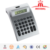 Hairong 8 digit electronic desktop calculator MD-9717,HaiRong office use solar power currency converter calculator