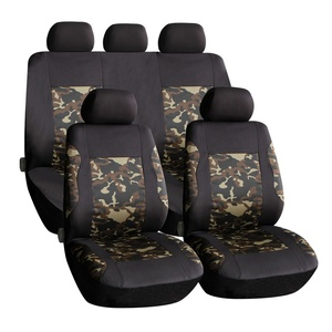 New!! Camouflage Color!! High Quality Universal 2MM polyester auto seat cover car seat cover 9 Pcs/Set Best Seller