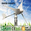300W 12V/24V Portable Electric Generating Windmills For Sale