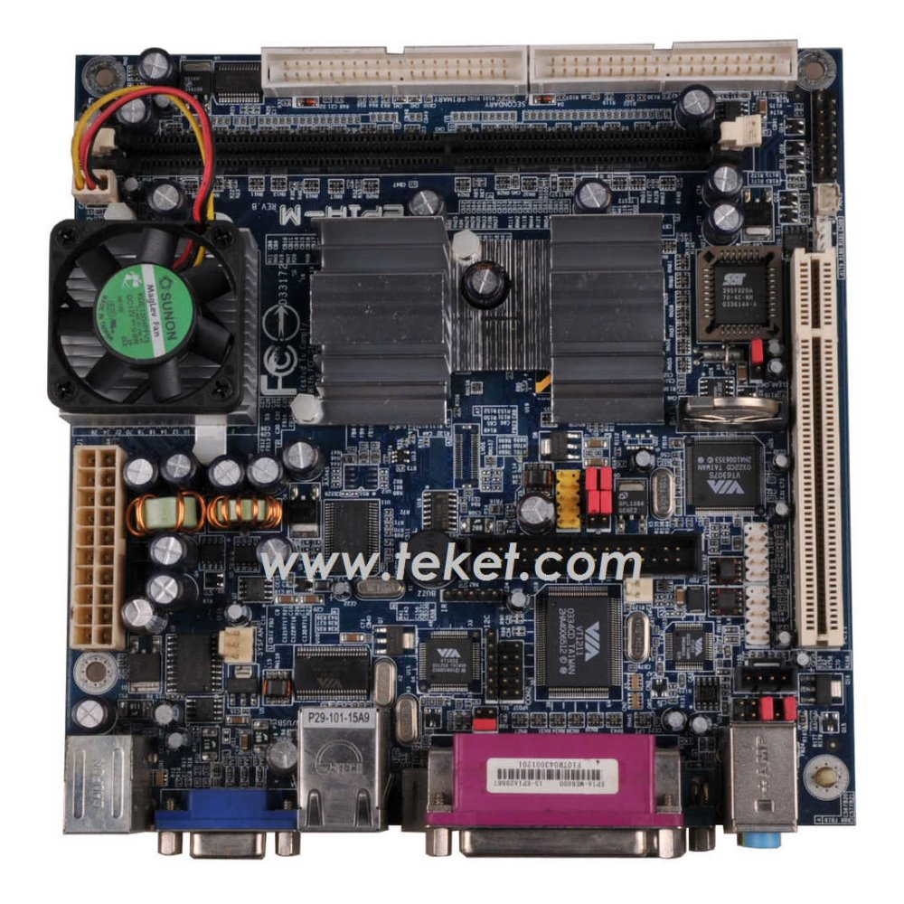 New VIA EPIA M10000G LVDS MINI ITX MOTHERBOARD