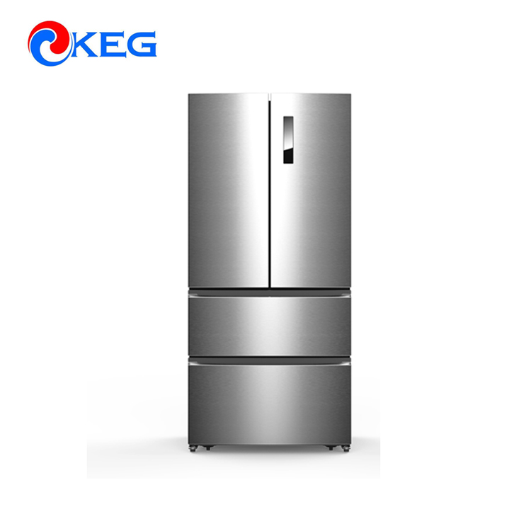 558L Big Capacity Side By Side Frigo French Door Refrigerators, View ...