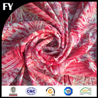 Factory custom high quality digital printing cotton fabric teflon coated