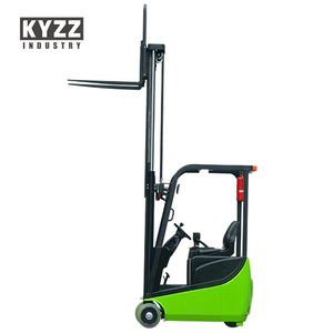 china used clamp mini electric forklift truck price 1.5T 1.5 ton for sale