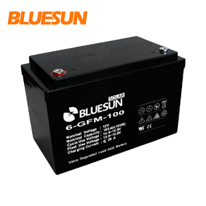 Bluesun agm sealed valve regulated battery for solar system 12v 60ah 100ah 150ah 250ah