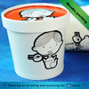 12oz soup paper bowl, wholesale hot soup noodle paper cup with lid