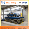 Hot sale home hydraulic car lift for basement