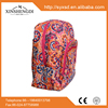 RE070 2015 New Arrival floral quilted backpack pattern