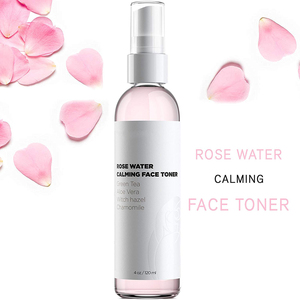 Skin Care Rose Face Spray Toner with Green Tea, Aloe and Hyaluronic Acid for Hydration