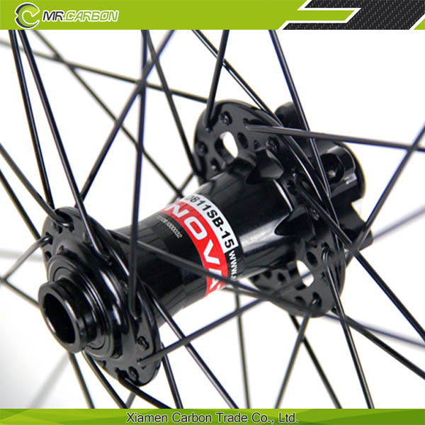 16-32 Fori In Fibra Di Carbonio Mtb Bike Ruota 650b 27 5 Pollice Ruote  Tubeless 35mm Largo Mountain Bike 27 5