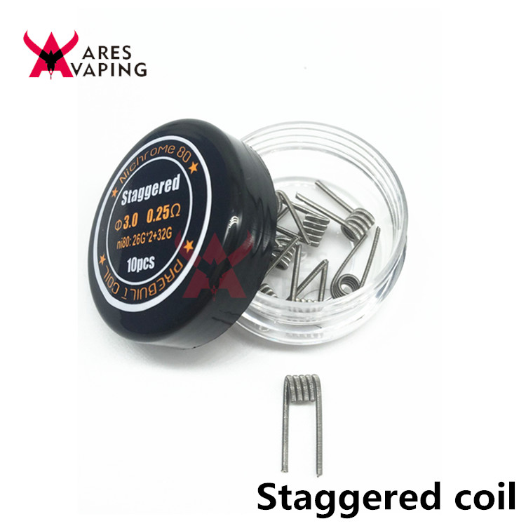 Good Quality Nichrome Ni80 Wire Torch Hoffa Staggered Fused ...