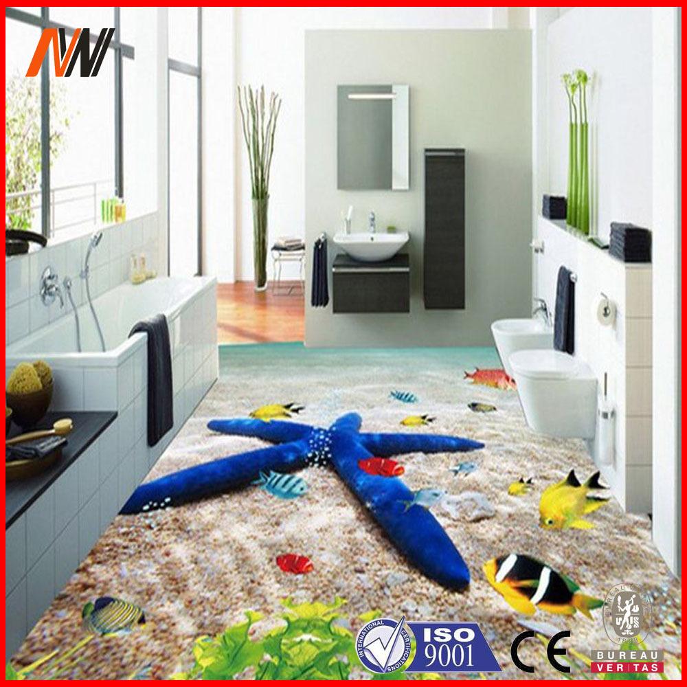 3d parete e disegni pavimento di piastrelle per bagno - Disegni per parete ...