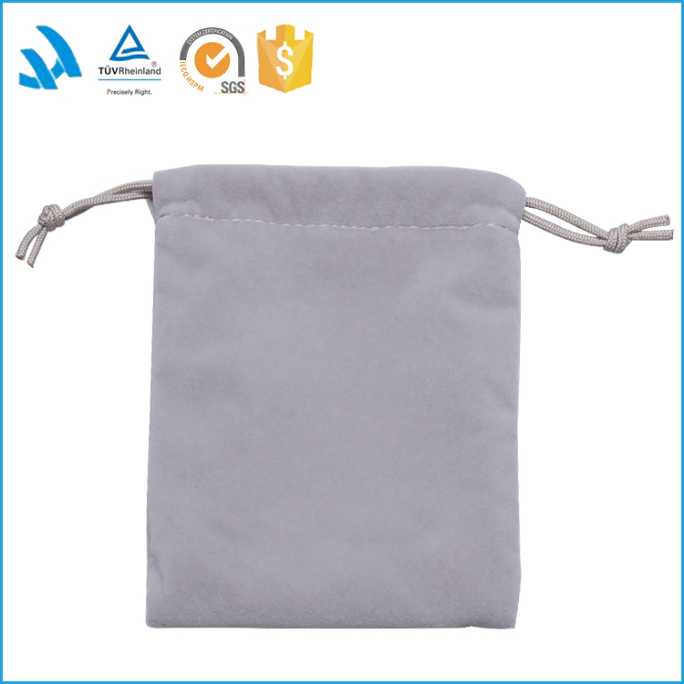 2015 Promotinal small fabric drawstring jewelry bag