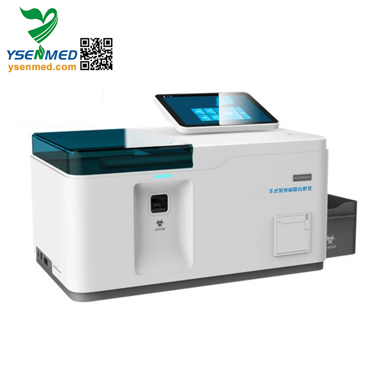 YSTE-FIA12 Good quality Laboratory Instrument  Immunoassay Quantitative Analyzer chemiluminescence immunoassay analyzer system