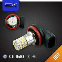 Auto Electrical System car parts H11 3014 led fog light lamp led motorcycle fog lights bulb